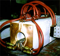 channel induction coils